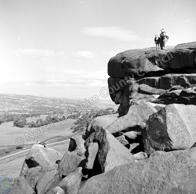 Cow & Calf Rocks, Ilkley